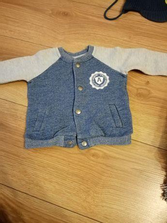 Bluza rozpinana f&f rozmiar 68 oraz kurtka cocodrillo
