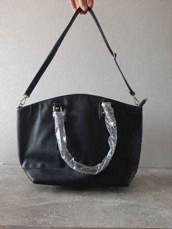 nowa czarna torebka A4
