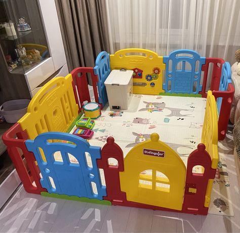 Детский манеж-ограждение (забор) Dwinguler
