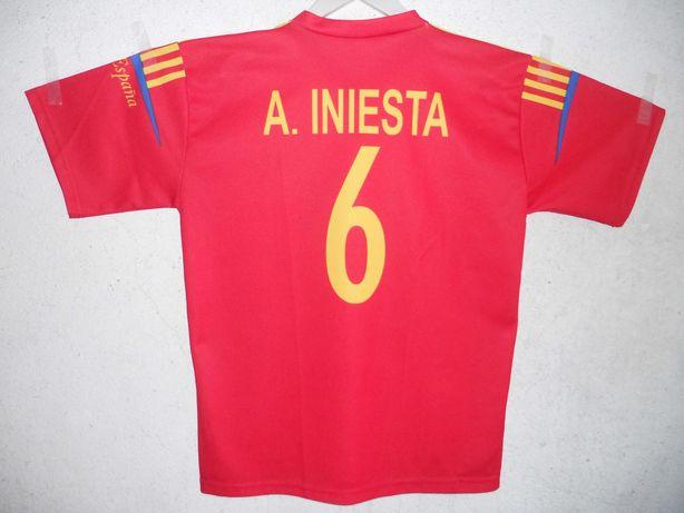 Kit camisola e boné da Selecção da Espanha!
