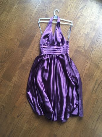 Sukienka wieczorowa fiolet