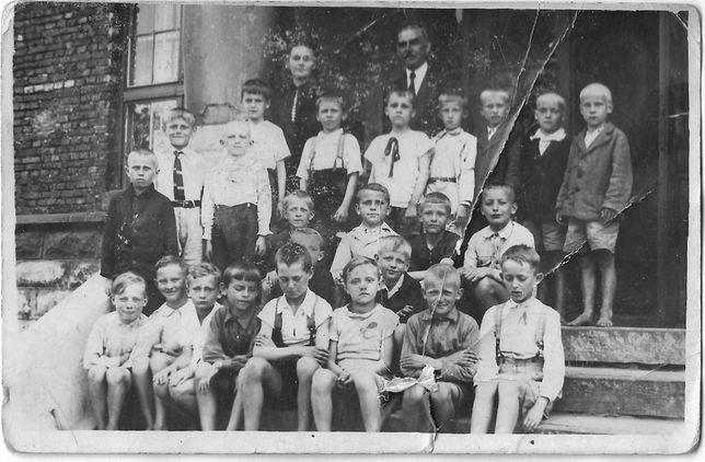 Dąbrowa Górnicza pamiątka ze szkoły 1940