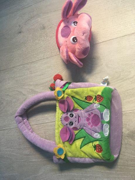 кошелек и сумка лунтик мульти- пульти