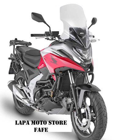 Honda NC750X 2021 - Crash-Bars - Vidros - Malas *novo*