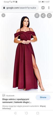 Nowa suknia maxi