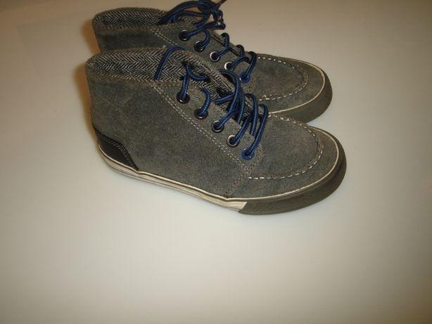 Next Замшевые кеды, ботинки Некст р 12 UK, евро 31, стелька 19,5 см в
