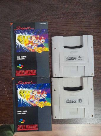 Super Game Boy + Manual instruções