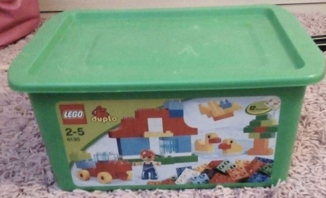 Lego duplo 6130 Duża skrzynia w komplecie