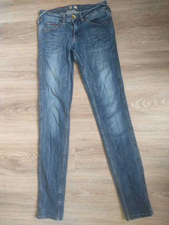 Hilfiger denim jeansy rurki 28/32