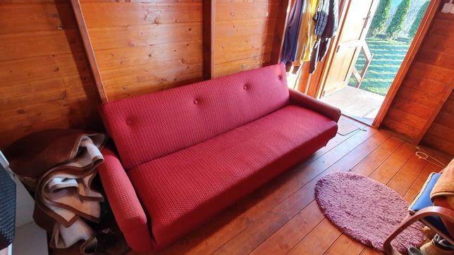 Kanapa rozkładana dwuosobowa + fotel