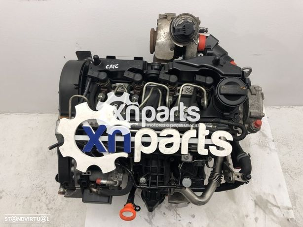 Motor SKODA OCTAVIA II (1Z3) / RAPID (NH3) / SUPERB II (3T4) / YETI (5L) / FABIA...