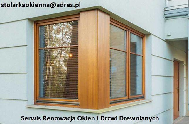 Serwis Renowacja Malowanie Okien Drzwi Drewnianych Warszawa