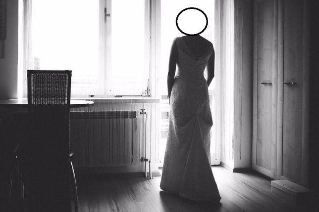 Suknia ślubna 38 tanio piękna i wygodna plus bolerko