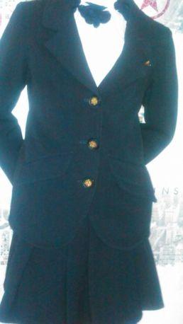 Школьная форма на девочку рост 122, пиджак +юбка