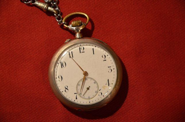 Srebrny zegarek kieszonkowy UNION - Dürrstein