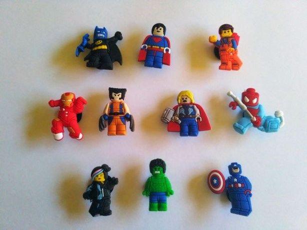 Super-heróis Lego Avengers Vingadores Pins