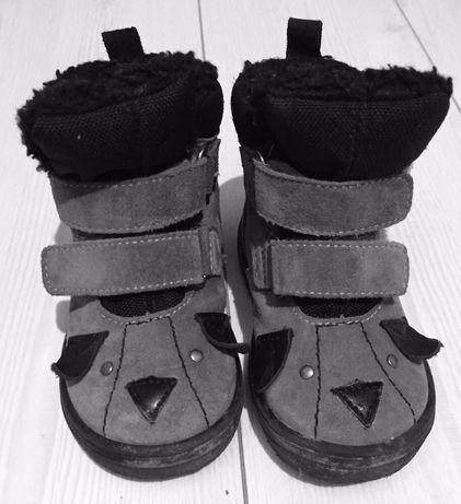 Buty zimowe wodoodporne kozaczki TE-POR Mido na deszcz śnieg 20