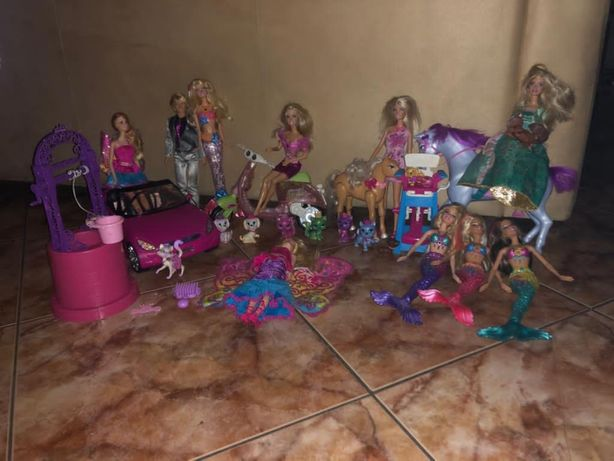 Mega Zestaw Barbie