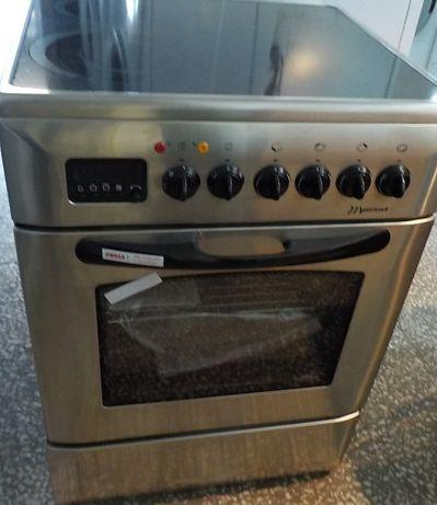 Kuchnia ceramiczna Mastercook szer.60cm, inox, nowa