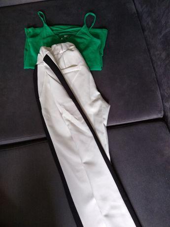 Eleganckie spodnie-zestaw