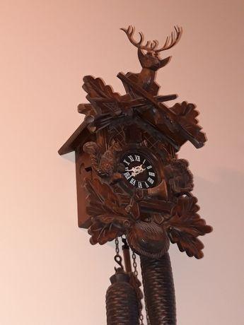 Zegar z kukułka myśliwski