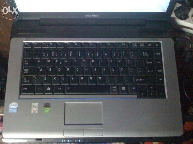 Toshiba portatil a200 dual core 2.4g1s games memoria 4gb e 320gb