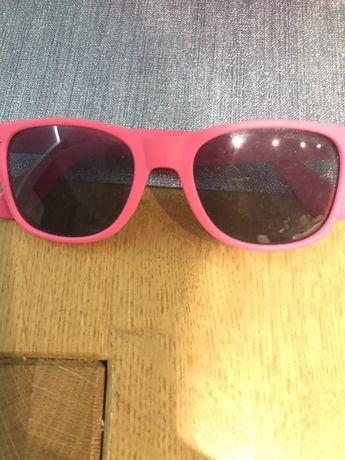 Różowe okulary przeciw słoneczne