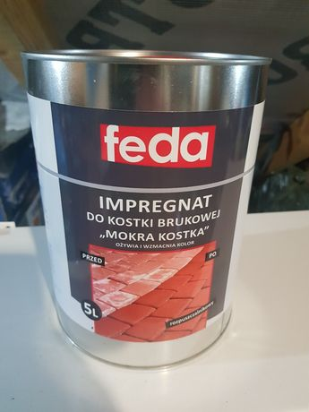 Impregnat FEDA mokra kostka 5l