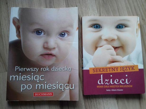 Książki poradniki o niemowlętach dla młodej mamy