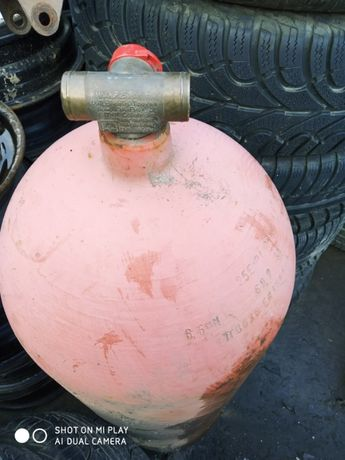 Метановский газовый баллон на 14 кубов. 56.4 л