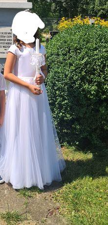 Sukienka komunijna.