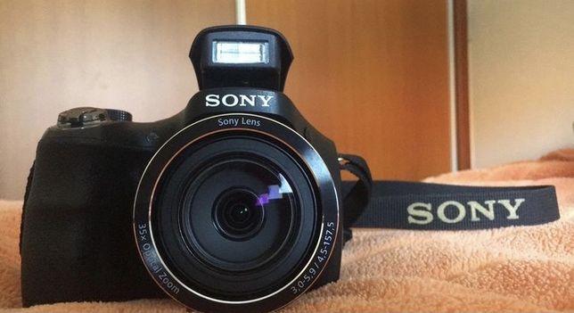 Máquina fotográfica quase nova Sony Dsc-H300B-20 MP