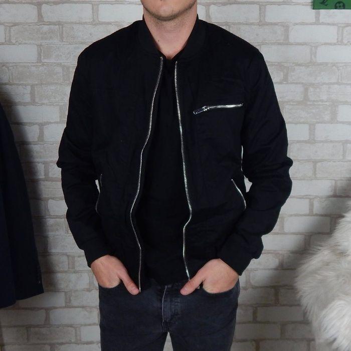 Черная куртка River Island, Zara Man, новая, S Винница - изображение 1