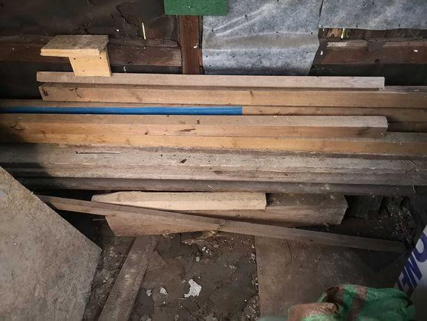 Belka drewniana, kantówka 7,5 x 7,5 cm długość  200 - 245 cm