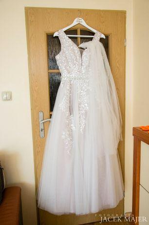 Sprzedam suknię ślubną cena do negocjacji