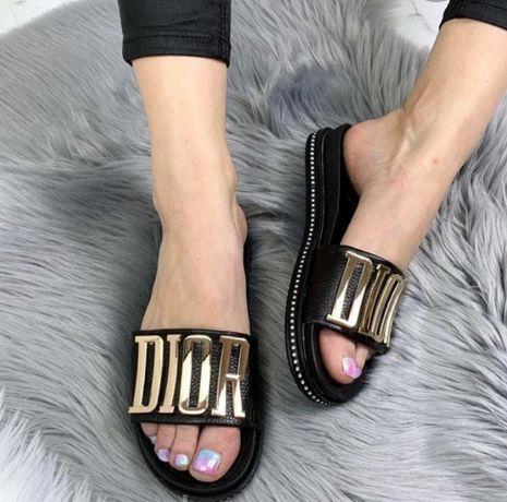 Продам шлепанцы, сабо, мюли, босоножки в стиле Dior Диор