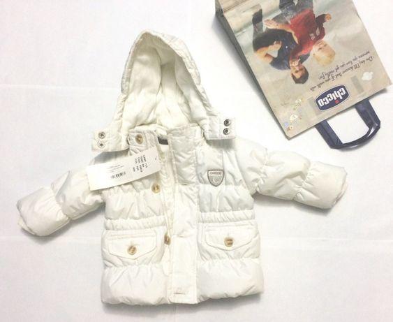 Зимняя куртка chicco (термо) новая!