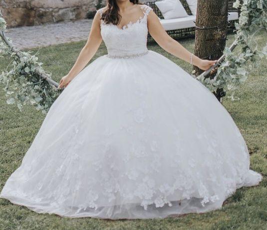Vestido de noiva usado Stella York