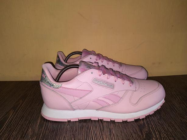 Оригинал новые кожаные кроссовки Reebok Classic Leather adidas nike