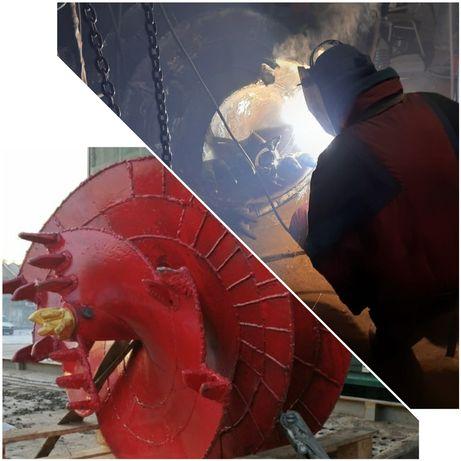 Изготовлю буровой шнек,  гидробур, ямобур JCB, МРК750, BOBCAT, БКУ1-МК