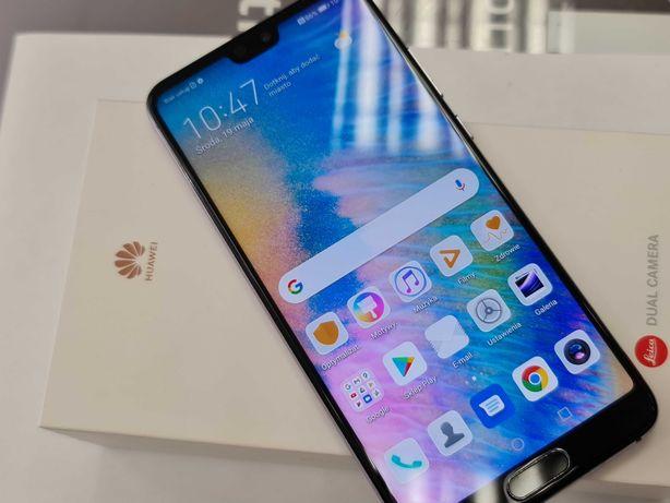 Huawei P20 64GB/ Dual SIM/ Twilight/ 100% sprawny/ Gwarancja/ Stan DB