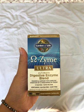 Suplemento Garden of Life - Omega Zyme Ultra Enzima Digestiva