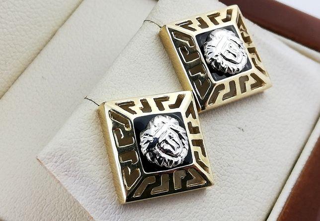 Wyjątkowe Złote kolczyki Sztyfty 3,08 g 333