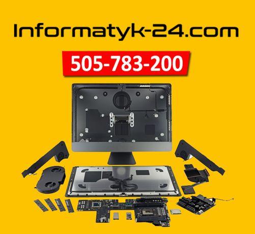 Naprawa laptopów, Naprawa komputerów, Serwis Dojazd Informatyk Grafik