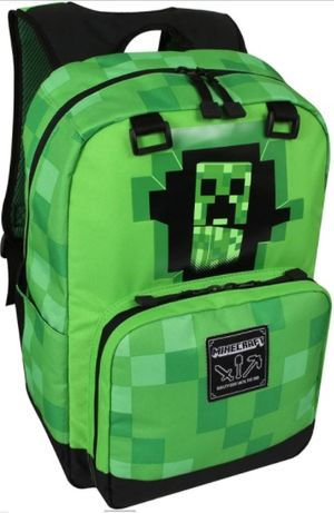 Рюкзак школьный Minecraft JINX Майнкрафт + сумка для обуви