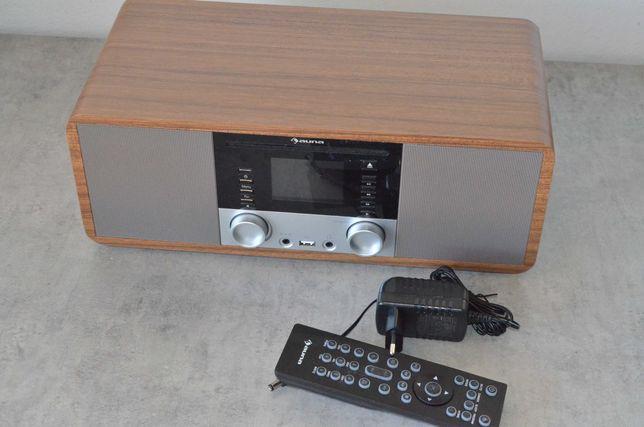 Radio internetowe odtwarzacz CD Wi-Fi UPnP USB pilot IR-190 Auna