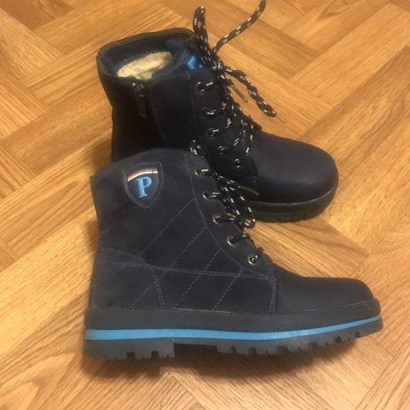 Зимние ботинки на мальчика 33 рр