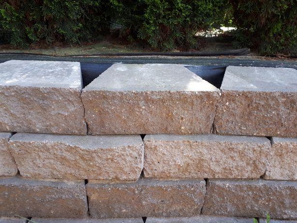 Bloczki betonowe ozdobne