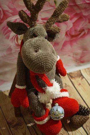 Игрушка рождественский олень