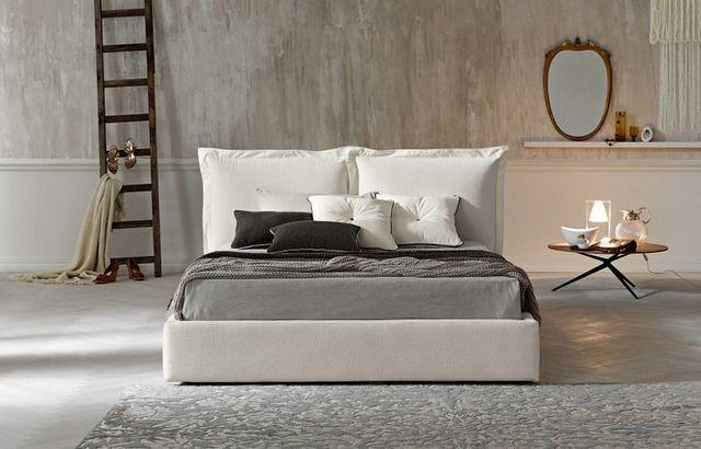 Tapicerowane łóżko Scandi nr 3 na wymiar od polskiego producenta